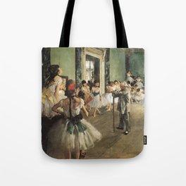 The Dance Class, Edgar Degas, 1874 Tote Bag