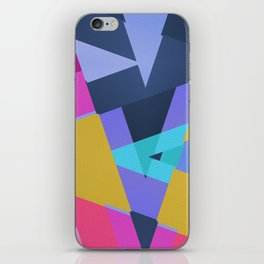 Triangle Round Up iPhone Skin