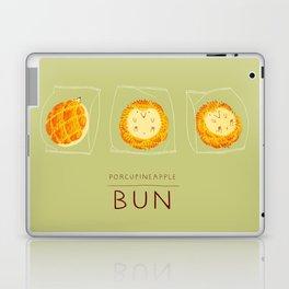 Porcupineapple Bun Laptop & iPad Skin