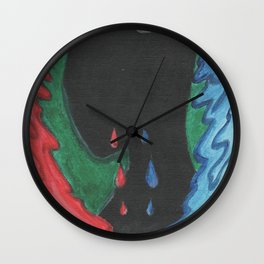 From Thoughts to Emotions Wall Clock
