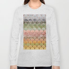 Watercolor art decó pattern Long Sleeve T-shirt