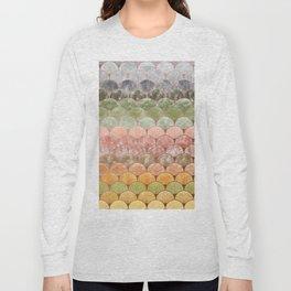 Watercolor art decó pattern Long Sleeve T-shirt