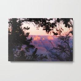 Sunset at Grand Canyon 2 Metal Print