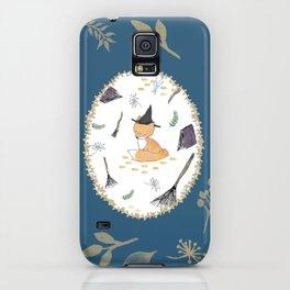 Blue Magical Fox iPhone Case