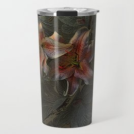 The Begonia Brocade Travel Mug