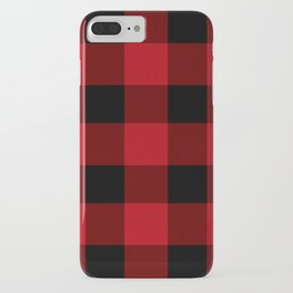 buffalo plaid - Adventure Awaits iPhone Case