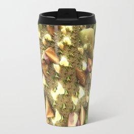 Christmas Glass Ribbons Travel Mug