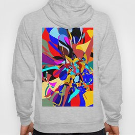 Flora Abstract Hoody