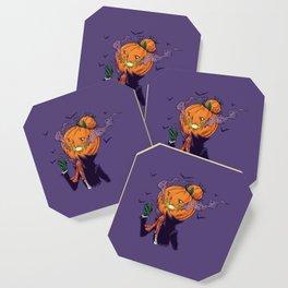 The Pumpkin Bun Coaster