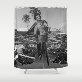 Ignorance is Bliss Shower Curtain