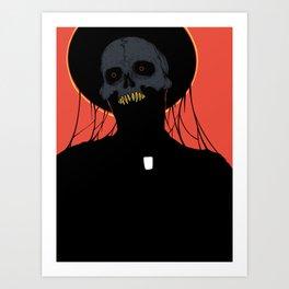 The Preacher Man Art Print