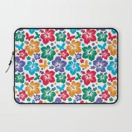 Hibiscus Pattern Laptop Sleeve