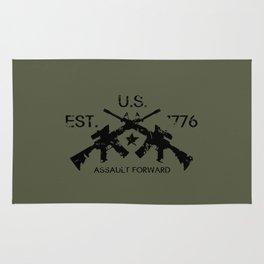 M4 Assault Rifles Rug