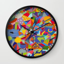 Everything You Love Wall Clock
