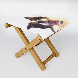 Happy Dog Folding Stool