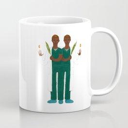 Cosmas and Damian Coffee Mug