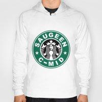 starbucks Hoodies featuring Starbucks C MID by Rainer Hilland