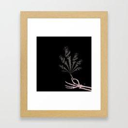 Smokin Sativa Framed Art Print
