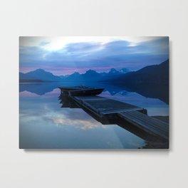 Lake MacDonald Morning Metal Print