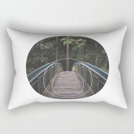 Circular Bridge - Geometric Photography Rectangular Pillow