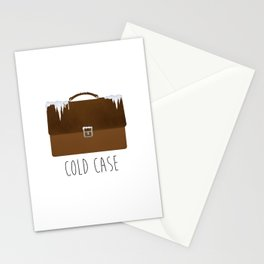 Cold Case Stationery Cards