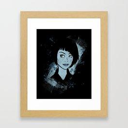 Tron - Quorra Framed Art Print