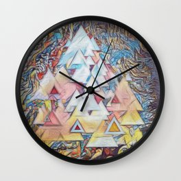 Ones and Twos Wall Clock