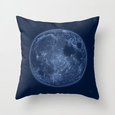 Dark Side of the Moon - Painting Throw Pillow