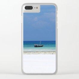 Zanzibar Clear iPhone Case