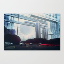 Inverted Reality (Guangzhou) Canvas Print