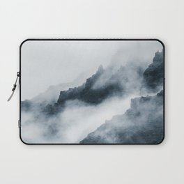 Foggy Mountains Laptop Sleeve