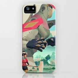 Pelle and Shovel iPhone Case