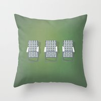 haim Throw Pillows featuring Haim - Days Are Gone by brittcorry