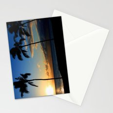 Alii Kahekili Nui Ahumanu Beach Maui Hawaii Sunset Kaanapali Stationery Cards
