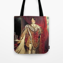 King George IV 1821 portrait Tote Bag
