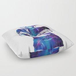 Crossed Arms Floor Pillow