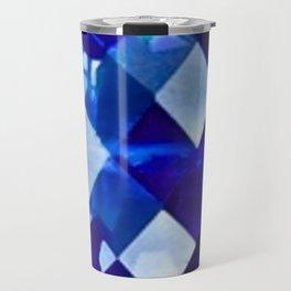 Blue Sapphire September Birthstone Gem Travel Mug