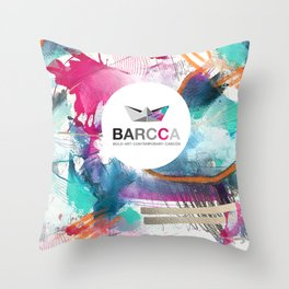 BARCCA by leo tezcucano 2 Throw Pillow