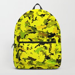 Yellow Camouflage v1   Urban Camo Backpack
