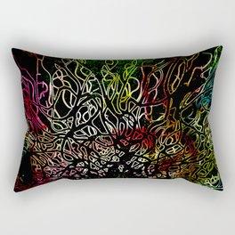 Deeper roots Rectangular Pillow