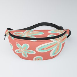 Tropical Flower Power Fanny Pack