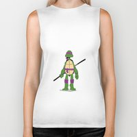 tmnt Biker Tanks featuring TMNT by Shahbab