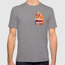 Taystee Prison Badge Fake Pocket Shirt With Candy T-shirt