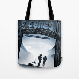 NASA Visions of the Future - Ceres, Queen of the Asteroid Belt Tote Bag