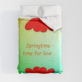 Springtime - time for love (day) ... Comforters