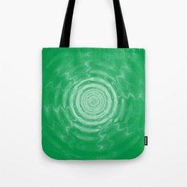 Ripples_Green Tote Bag