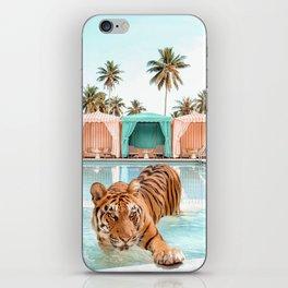 Cabana Tiger iPhone Skin