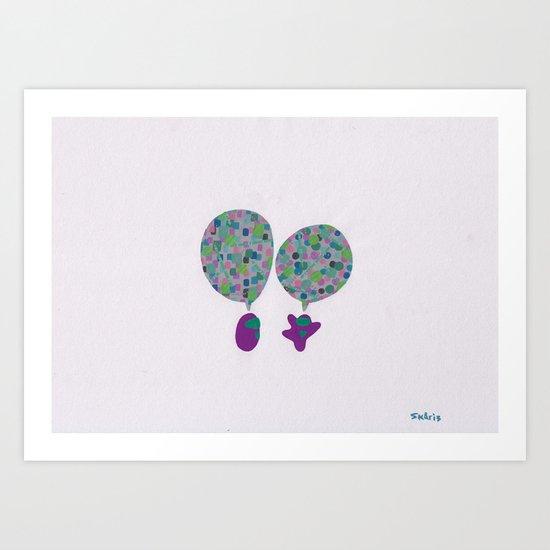 Conversation, VI Art Print