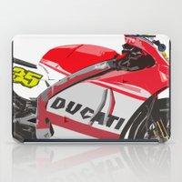 ducati iPad Cases featuring Ducati GP15 by Larsson Stevensem
