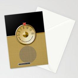 The Nakashuma Mark 3 in Black Stationery Cards